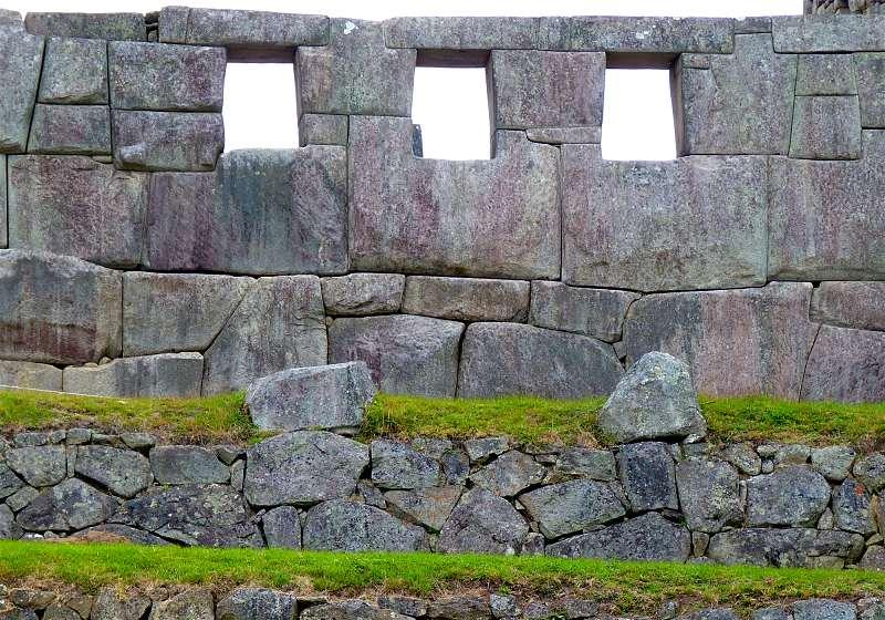 templo das tres janelas em machu picchu